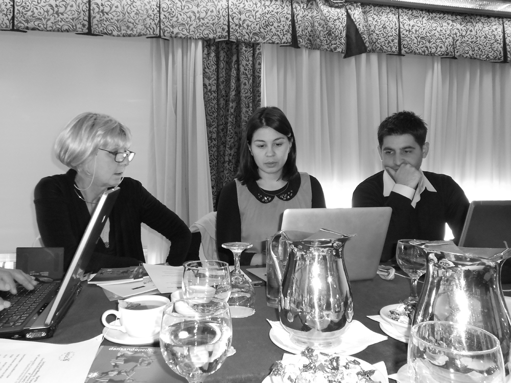 Lesley Millar, Iro Pappa and Spiros Koutsogiannis