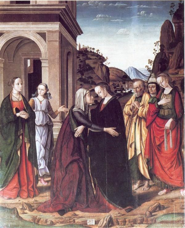 Visitation by Giovanni Santi