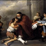 The prodigal son by Bartolomé Esteban Murillo