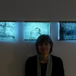 Diana at Opening with the Diana, Giulio, Cinzia collaboration work